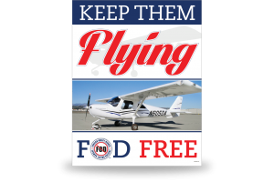 FOD Poster 22x28 Keep Them Flying - Style 5