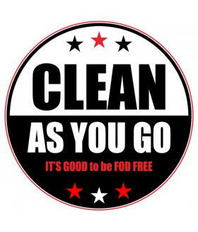 FOD Sticker 4 Clean