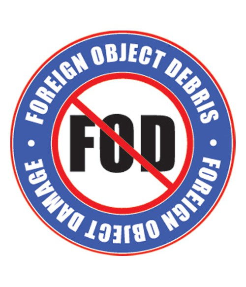FOD Sticker 4 Sticker