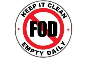 FOD Sticker 4 Keep It Clean