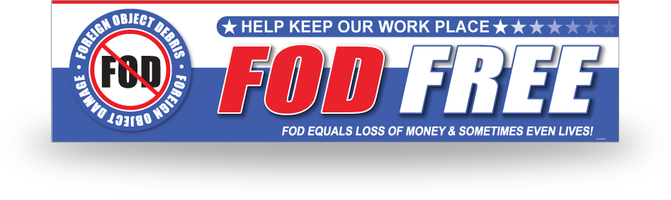 FOD Banner 2x8 America