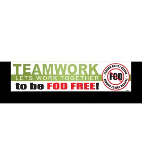 FOD Banner 2x8 Teamwork