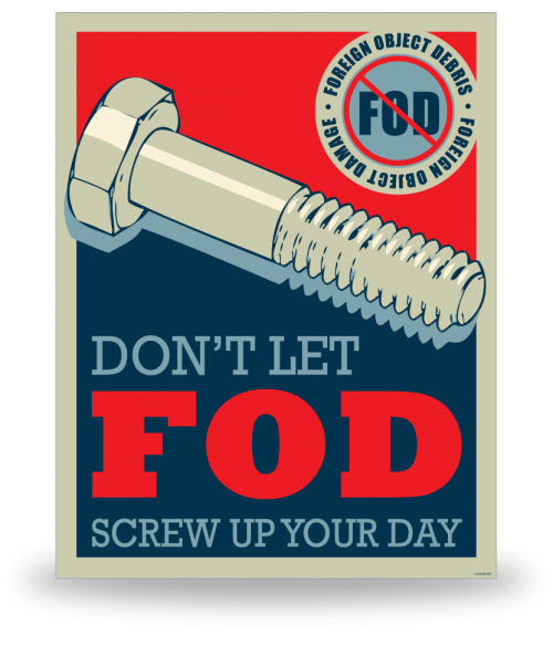 FOD Poster 22x28 Screw It Up