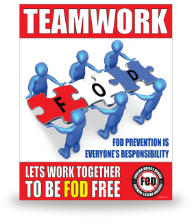 FOD Poster 22x28 Teamwork Puzzle