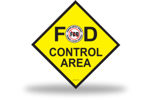 FOD Sign 1x1 Control Basic