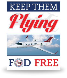 FOD Poster 22x28 Keep Them Flying - Style 6