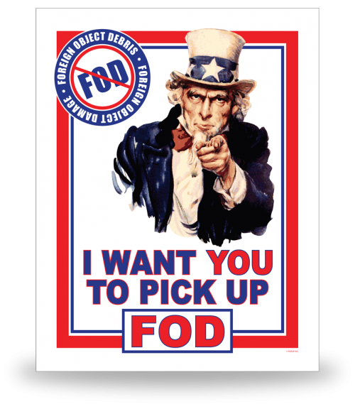 FOD Poster 22x28 Uncle Sam