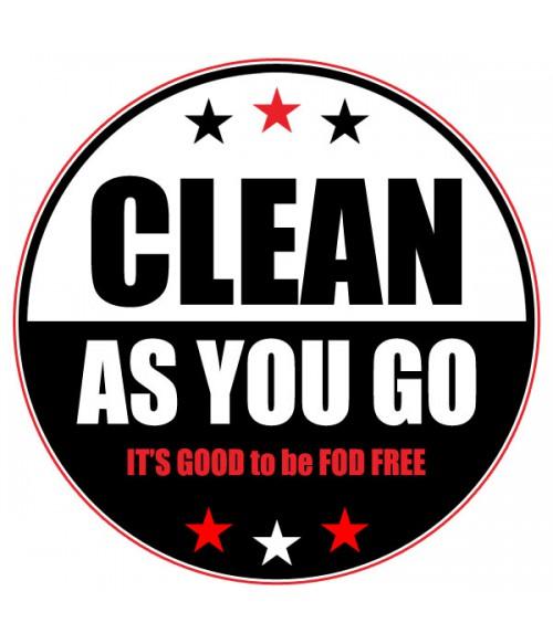 FOD Sticker 4 Clean