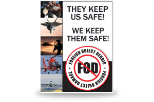 FOD Poster 22x28 Keep Them Safe