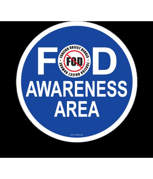 FOD Sign 12x12 Awareness Basic