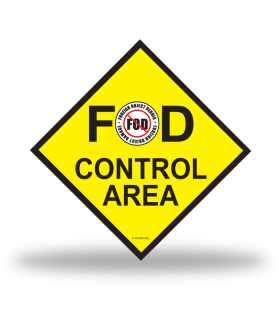 FOD Sign 12x12 Control Basic